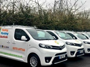 APG new fleet of vans