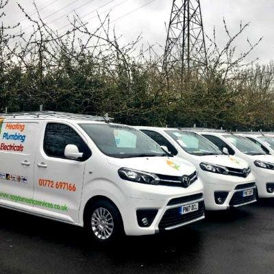 APG new fleet of vans