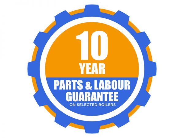 10 year parts labour guarantee