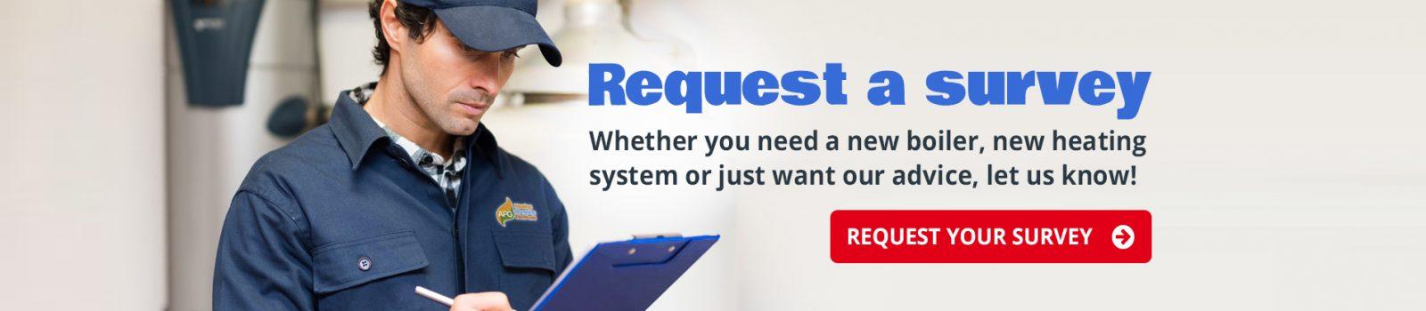 Request a survey