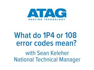 What do 1P4 or 108 error codes mean?