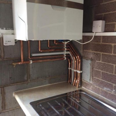 New boiler installation Hutton