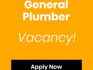 General Plumber Vacancy